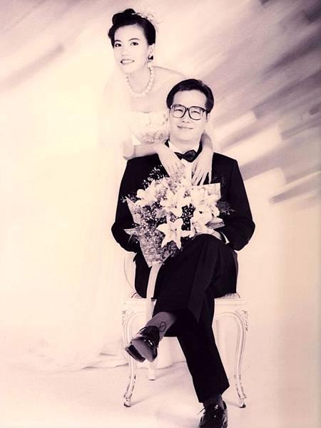 圖1 我與咪呢的結婚照(1993年).JPG