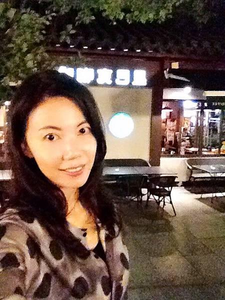 P5)喝一杯咖啡等待觀賞「印象西湖」.JPG