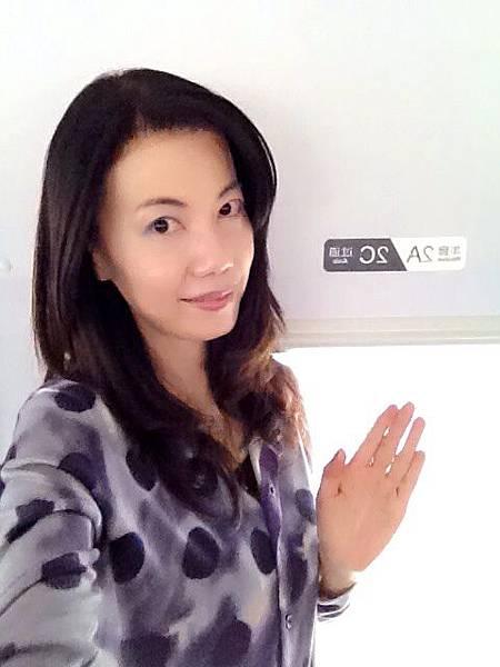 P9)我在高鐵車廂內.JPG