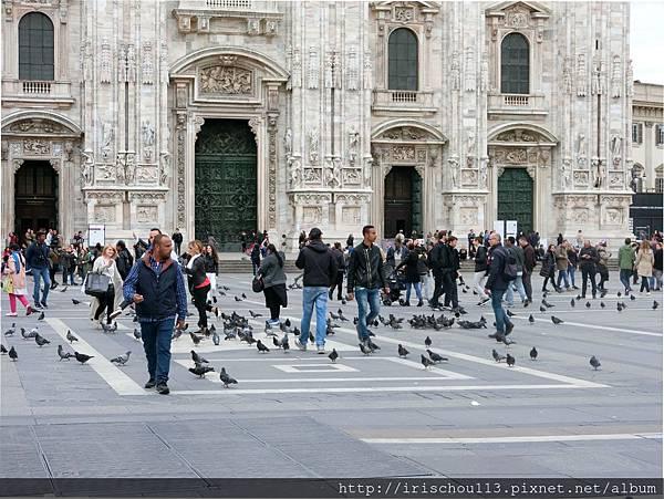 P5)「鴿子&黑人」是歐洲各大教堂前的基本配備.jpg