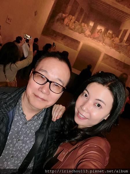 P45)我和咪呢&達文西名畫.jpg