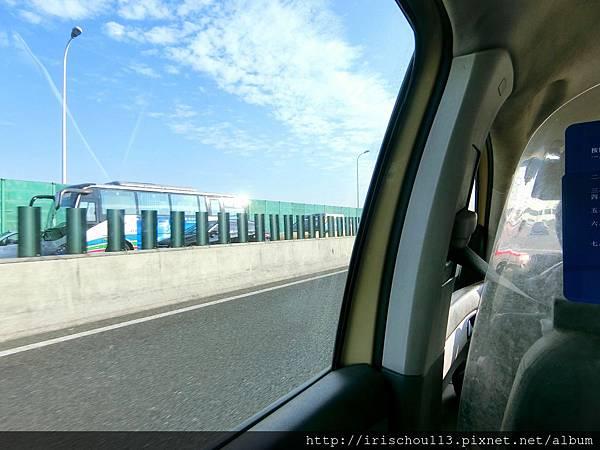 P17)11月6日從酒店搭Taxi前往浦東機場.jpg