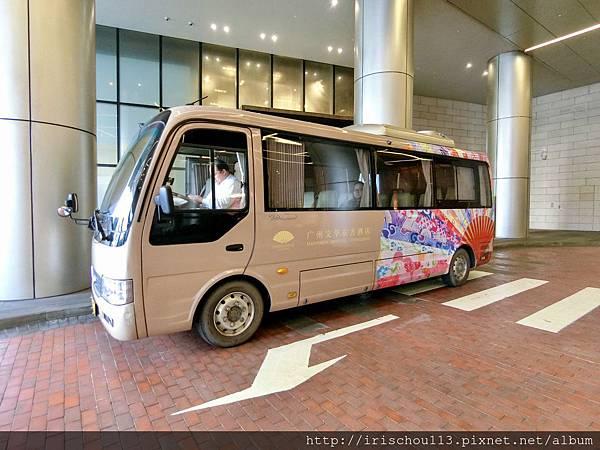 P3)廣州文華東方酒店的接駁車.jpg