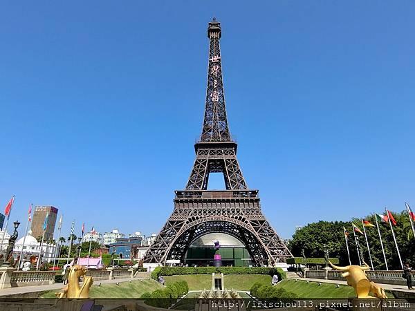 P26)「世界之窗」裡的巴黎鐵塔.jpg
