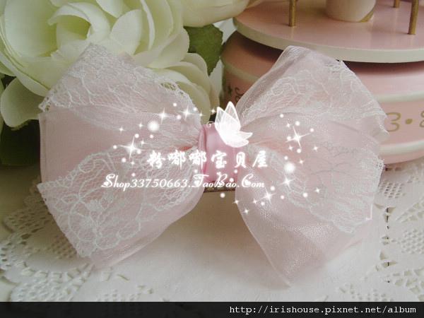 蕾丝纱缎蝴蝶结顶夹2.jpg