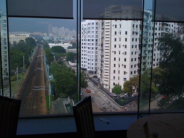 帝京酒店︰窗景