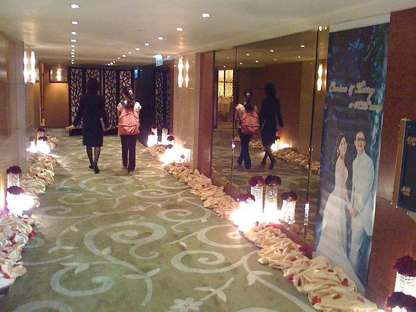逸東酒店︰樓上場地-走廊