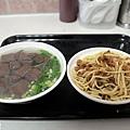 台中-康康豬-豬血湯-炒麵-東泉辣椒醬