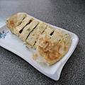 台中-有力早點-酥皮蛋餅-蔥酥餅-豆花