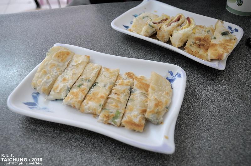 台中-有力早點-酥皮蛋餅-蔥酥餅-豆花 (3)