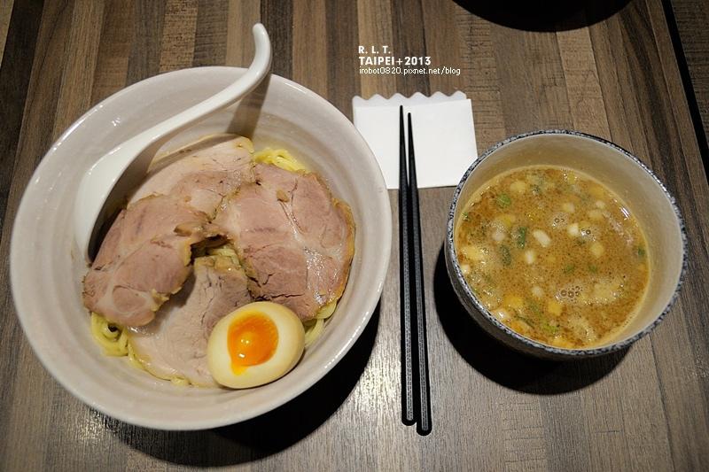 台北-伊通公園-麵屋輝-魚介豚骨沾麵-鐵之腕旁邊 (11)