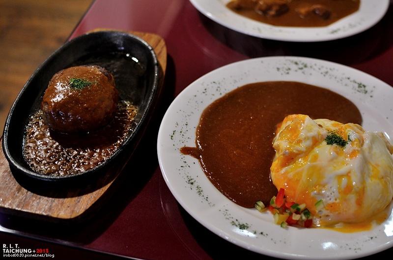 台中-異鄉人咖哩-漢堡排-炸豬排
