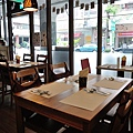 台中-大墩十四街-House Pasta & Coffee-義大利麵-雙醬粉紅醬-清炒-青醬