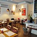 台中-大墩十四街-House Pasta & Coffee-義大利麵-雙醬粉紅醬-清炒-青醬 (2)