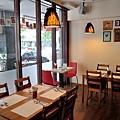 台中-大墩十四街-House Pasta & Coffee-義大利麵-雙醬粉紅醬-清炒-青醬 (3)