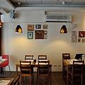 台中-大墩十四街-House Pasta & Coffee-義大利麵-雙醬粉紅醬-清炒-青醬 (4)