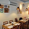 台中-大墩十四街-House Pasta & Coffee-義大利麵-雙醬粉紅醬-清炒-青醬 (7)