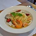 台中-大墩十四街-House Pasta & Coffee-義大利麵-雙醬粉紅醬-清炒-青醬 (17)