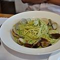台中-大墩十四街-House Pasta & Coffee-義大利麵-雙醬粉紅醬-清炒-青醬 (20)