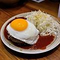 台北-名古屋台所-漢堡肉-炸雞翅-炸漢堡排-焗烤起士蕃茄-味增豬排丼-味增黑輪-沙瓦 (16).JPG