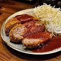 台北-名古屋台所-漢堡肉-炸雞翅-炸漢堡排-焗烤起士蕃茄-味增豬排丼-味增黑輪-沙瓦 (38).JPG