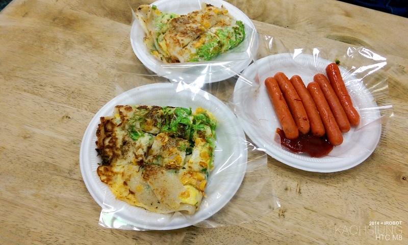 高雄-三和市場-美而美-特製蛋餅-小白菜-玉米 (2).jpg
