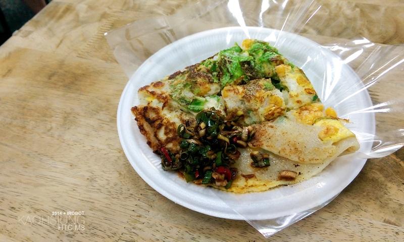 高雄-三和市場-美而美-特製蛋餅-小白菜-玉米 (3).jpg