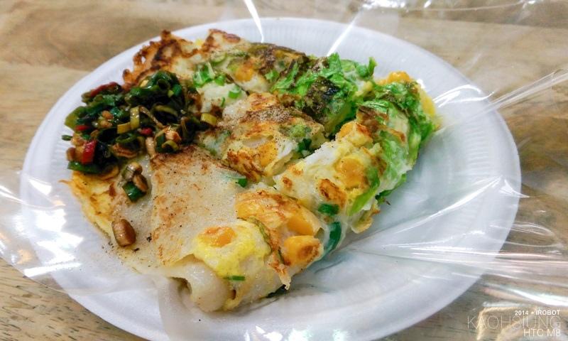 高雄-三和市場-美而美-特製蛋餅-小白菜-玉米 (5).jpg