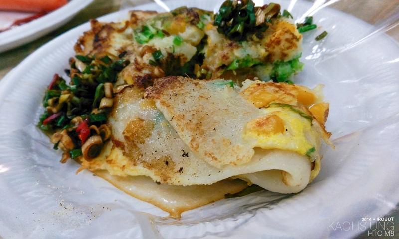 高雄-三和市場-美而美-特製蛋餅-小白菜-玉米 (12).jpg
