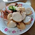 高雄-小暫渡-米糕-紅燒肉-三色蛋-豬舌-米腸-熟肉 (7).JPG