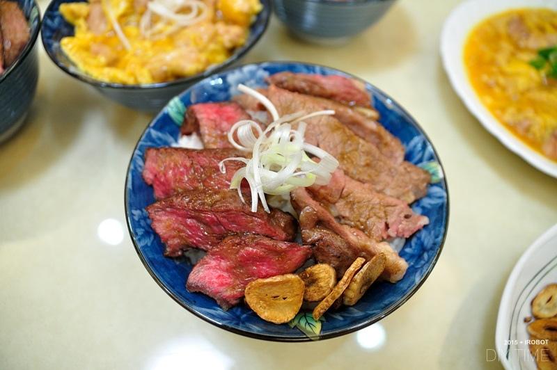 牛排丼+親子丼+蘿蔔煮 (5).JPG