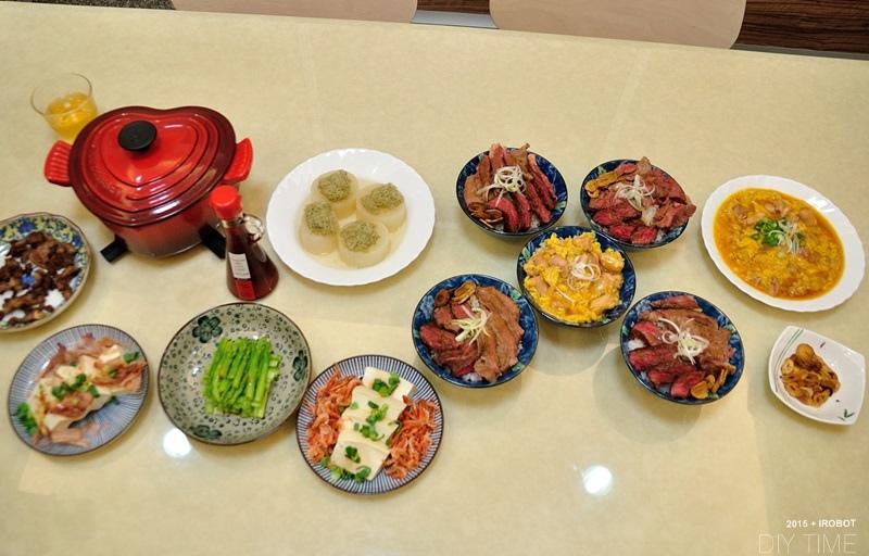 牛排丼+親子丼+蘿蔔煮 (8).JPG