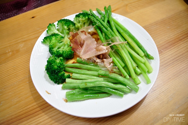 牛排蛋包飯+蒜香乾煎蝦 (3).JPG