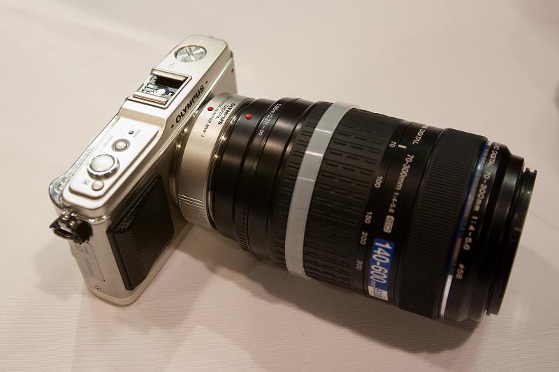 裝上 70-300mm