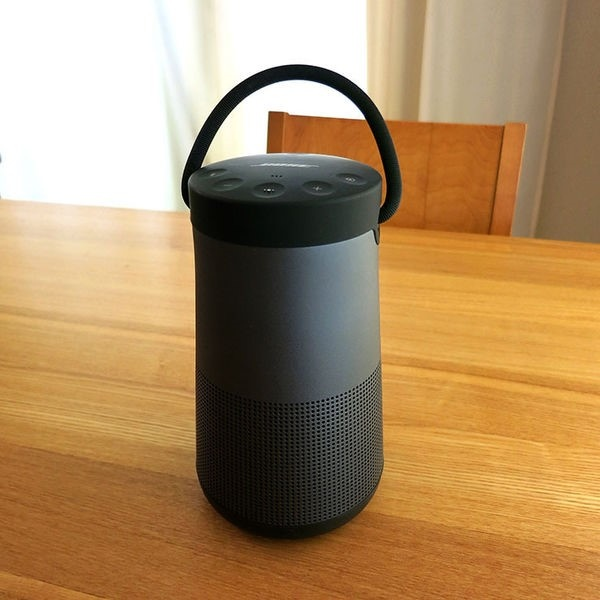 Bose的SoundLink Revolve+ 便攜式音箱給您360度的全音場環繞音效,播放音樂無所限制