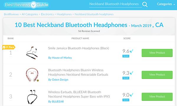 頸掛式藍牙耳機