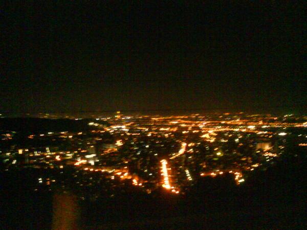 陽明山的Zest 看夜景