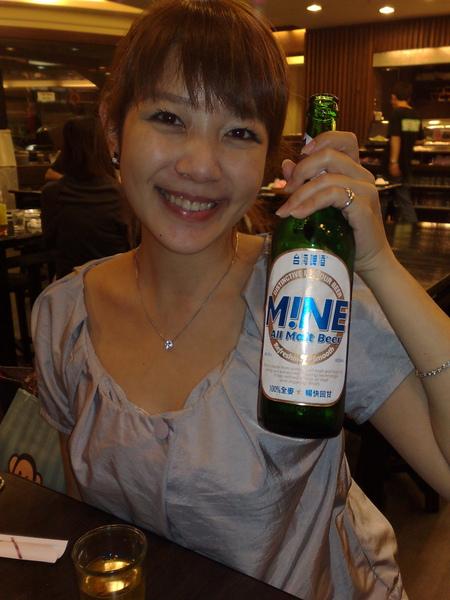 酒促小姐陳美莉  乾一杯