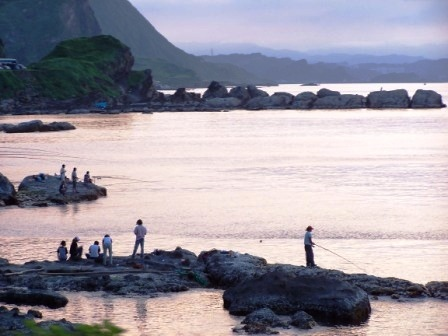 北海岸夕陽.JPG