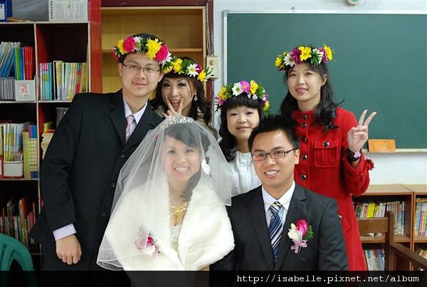 新娘子一家人