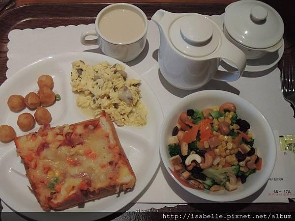 每週一次的西式早餐