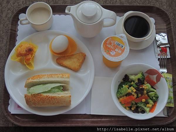 西式早餐也很美味!