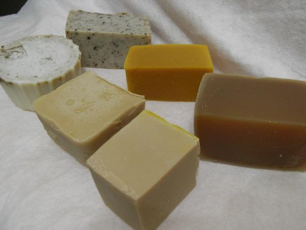 暑假完成的六款皂