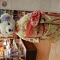 超可愛的和服熊熊