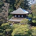 俯瞰銀閣寺