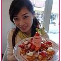 Isa & 草莓鬆餅
