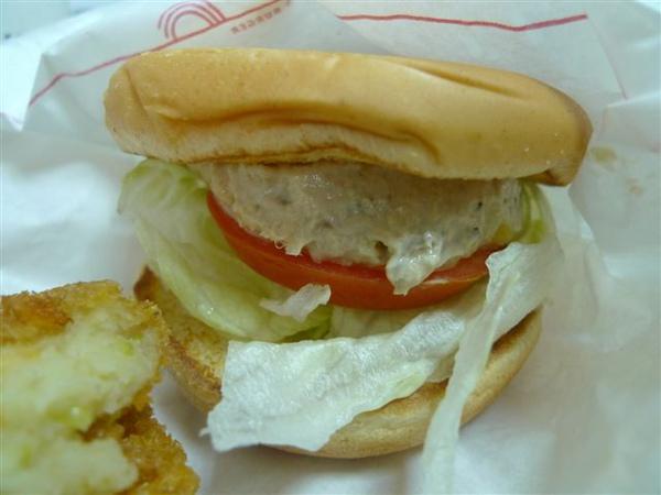 第一彈之MOS早餐-鮪魚堡