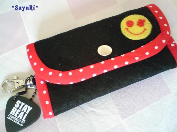 Be Happy鑰匙包.JPG