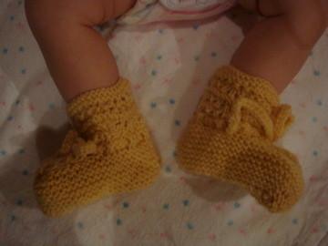 小毛襪 - 除了毛帽、毛衣還有小毛襪喔!