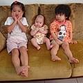 三朵花 - 我和小兔子姐姐一起看緯綸姐姐裝可愛